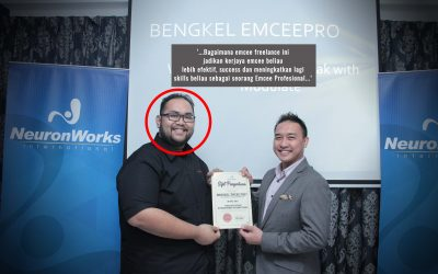 Bagaimana emcee freelance ini jadikan kerjaya emcee beliau lebih efektif, success dan meningkatkan lagi skills beliau sebagai seorang Emcee Profesional.