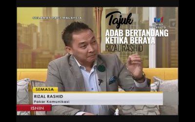 [VIDEO] Tuan Rizal Rashid LIVE di Rancangan 'Selamat Pagi Malaysia'